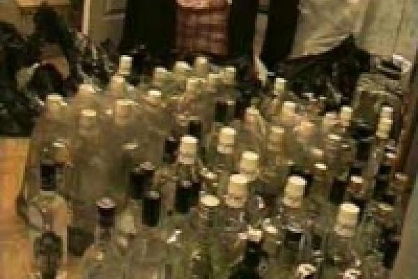 Милиционеры конфисковали более 9 тонн «пойла»