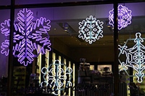 В мэрии Липецка оценили новогодние витрины