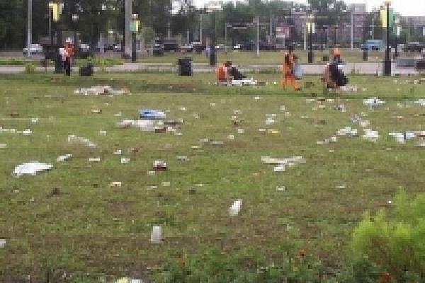 Дни большого мусора закончились.