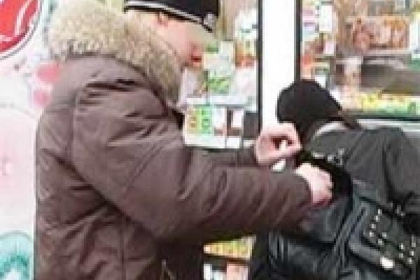 В Липецке задержаны «щипачи»