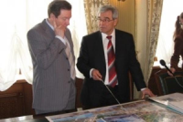 Губернатор и мэр помечтали о Петровских прудах