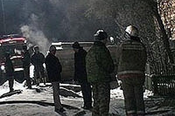 В Липецке горел детский сад
