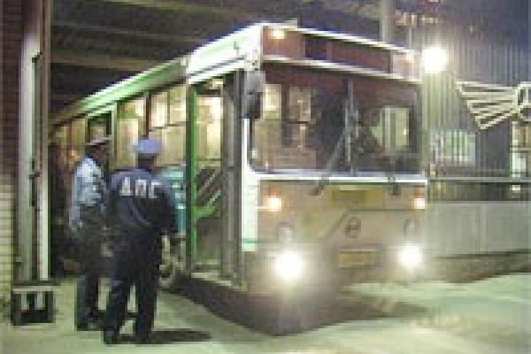Водители автобусов садились за руль пьяными