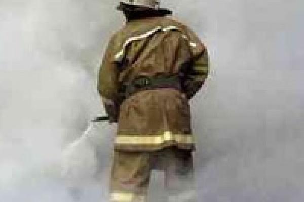 Казинский пенсионер выжил при пожаре