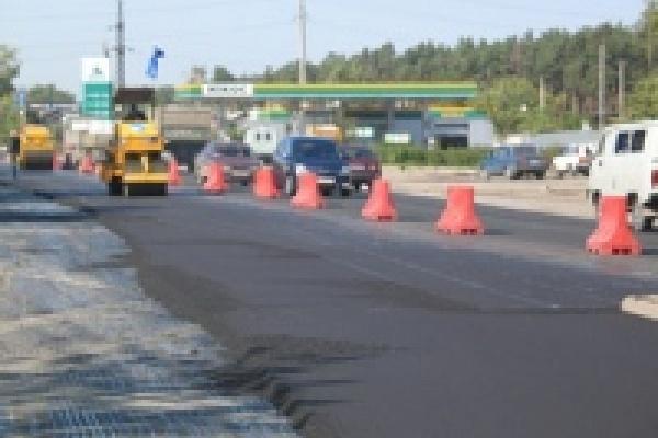 Завершено латание дорог Липецка