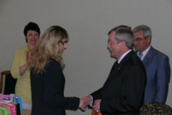 Вундеркинды встречались с мэром Липецка и спикером горсовета