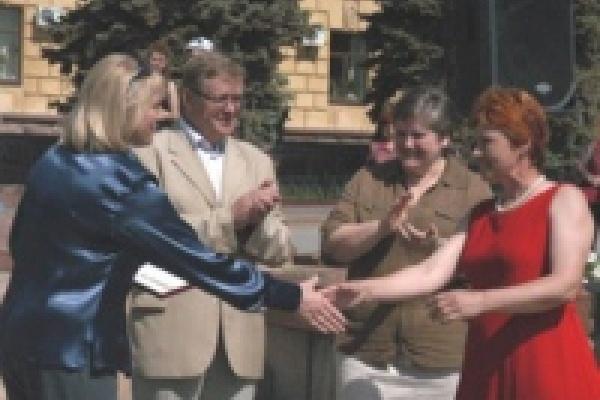 На Соборной площади Липецке выбрали лучших танцоров области