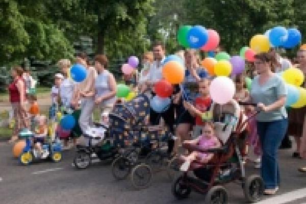 Парад семей пройдет в Липецке в третий раз