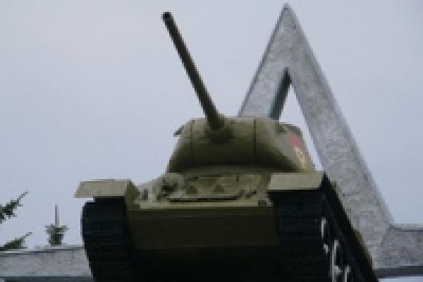 Торговал у памятника Танкистам
