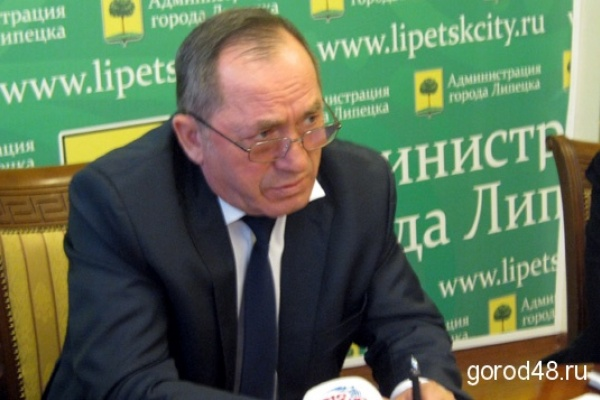 Вице-мэр Липецка Николай Корвяков покидает свой пост второй раз