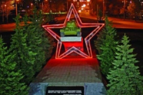 Памятник Танкистам будет обновлен к 65-летию Дня Победы