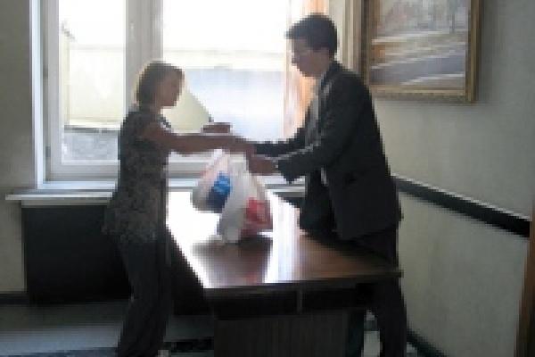 В мэрии Липецка приняли первую помощь