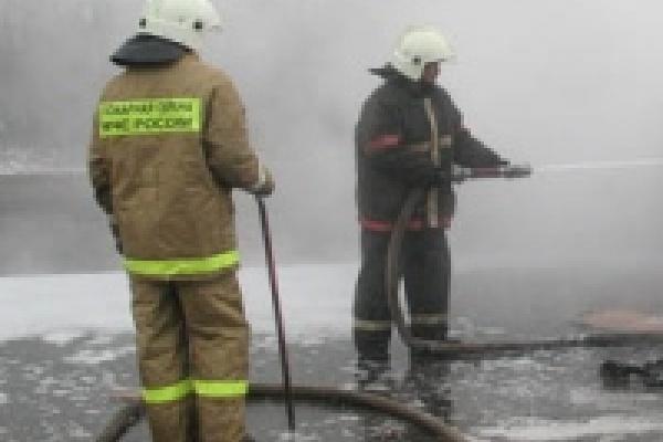 Пожарные предотвратили возгорание цистерн с мазутом