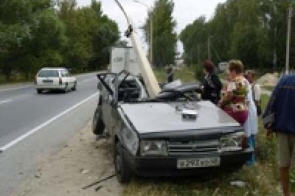 Водитель «ВАЗа» погиб на месте