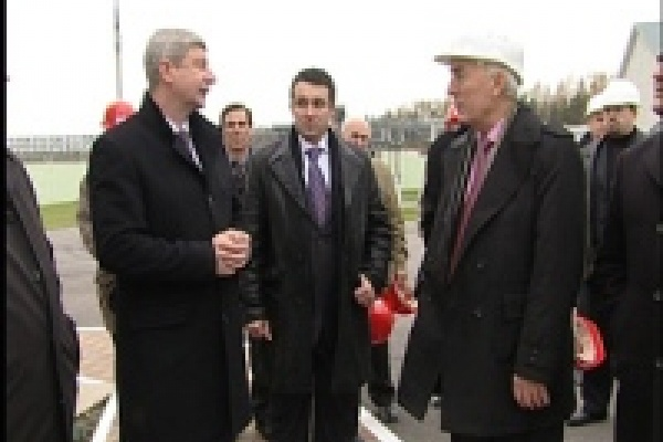 Липецкую область посетил генеральный директор ОАО «Особые экономические зоны» Сергей Левкин