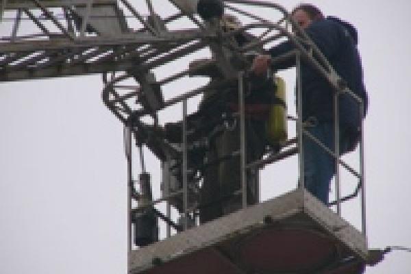 В Липецке пожарные спасли торгово-развлекательный центр