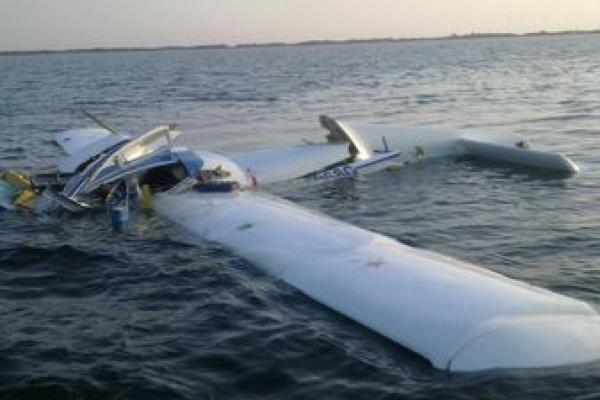 Легкомоторный самолет, которым управлял депутат Липецкого областного Совета Борис Богатиков, упал в реку Дон