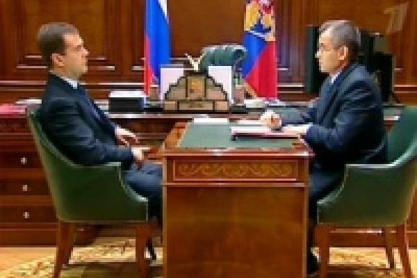 Министр внутренних дел рассказал президенту России о Липецкой области