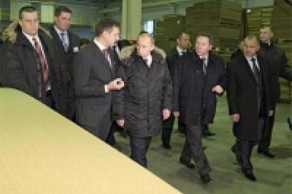 В Липецк приехал Владимир Путин