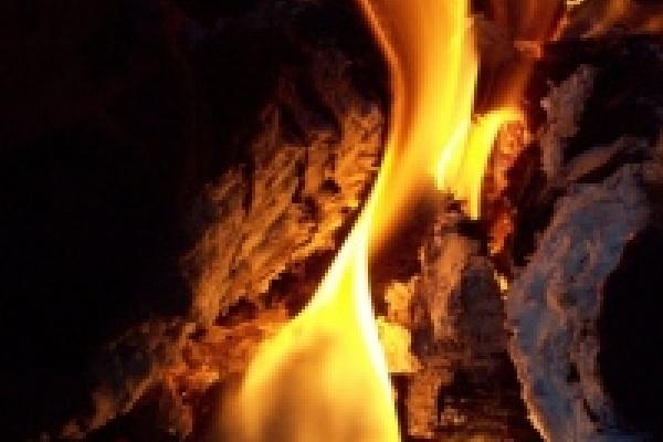 В пожаре погиб инвалид