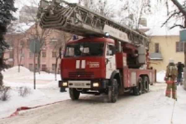 Второклассница отличилась на пожаре