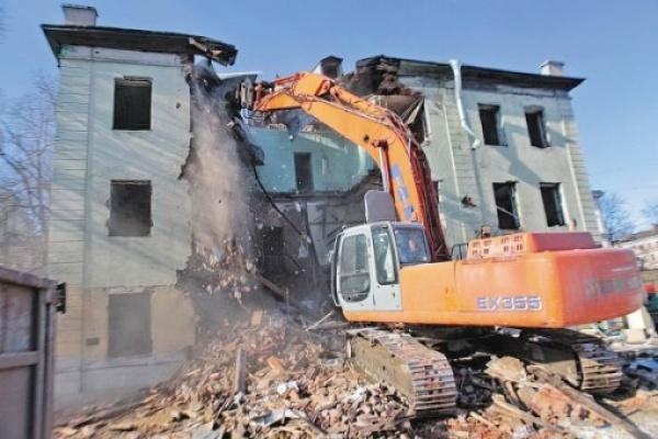 На снос аварийных домов город затратит более 8 миллионов рублей