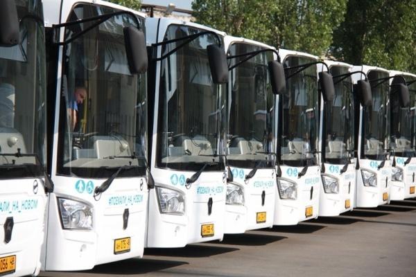 Автобусы, получившие неоднозначную оценку липчан, выйдут на маршруты