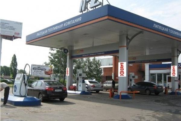 Липецкая общественность усомнилась в законности размещения рекламы ЛТК на своих заправках