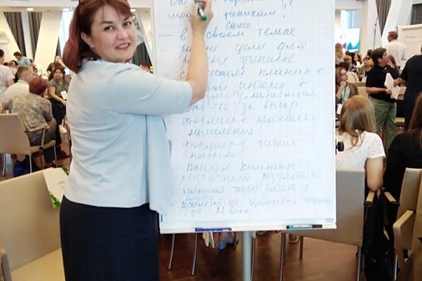 В Липецке главным учителем назначили директора школы Светлану Бедрову