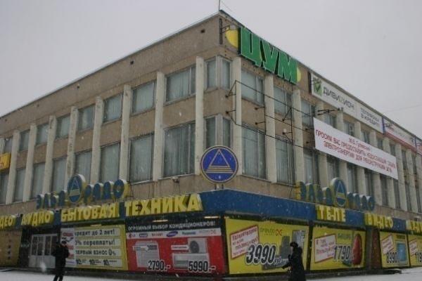 Реконструкция липецкого «ЦУМа» приостановлена после проверки