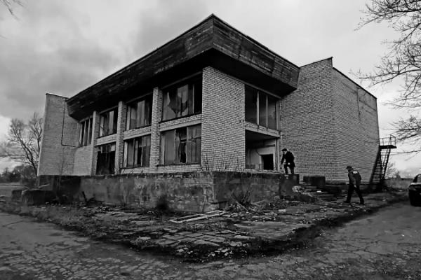 Из-за разрухи липецкое село сравнили с украинским Чернобылем