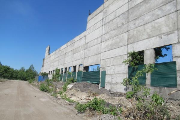 Недостроенный экспериментальный цех бывшего Липецкого тракторного завода пустят с молотка