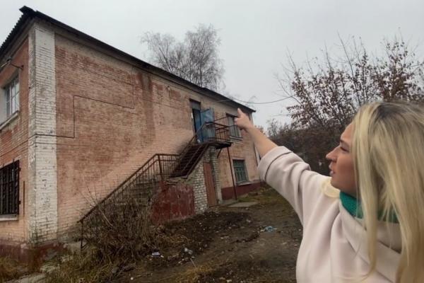 Жители липецкого барака опасаются быть погребёнными под завалами столетнего дома