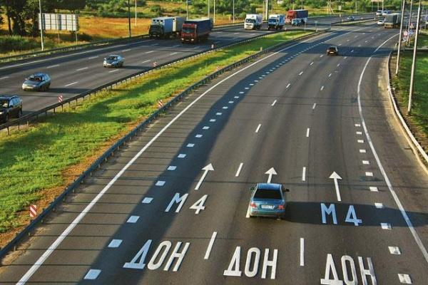 Два участка автодороги М-4 «Дон» в Липецкой области станут платными