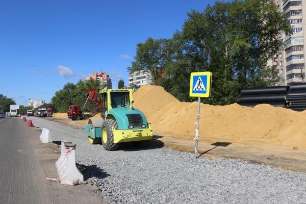 Столичный подрядчик получил шесть претензий от мэрии Липецка за медлительность в ремонте дорог
