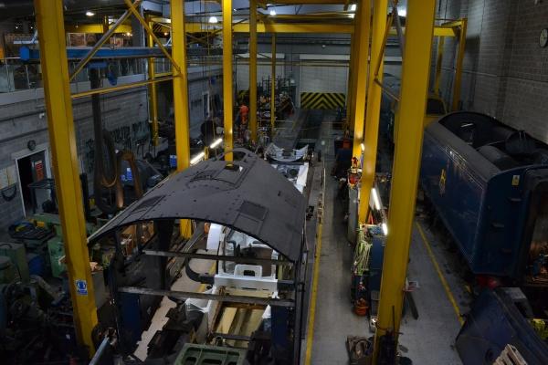 После технического перевооружения в Ельце ввели в эксплуатацию локомотивное ремонтное депо