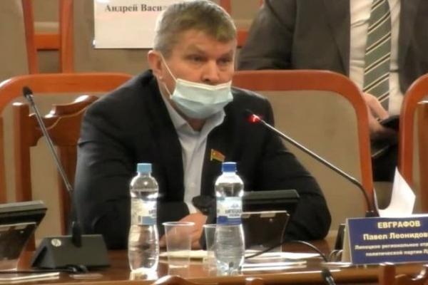 Павел Евграфов попросил липецкого прокурора разобраться с руководством региональной ЛДПР