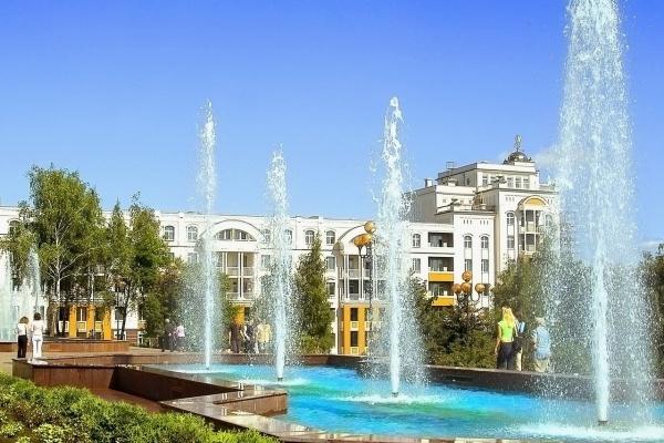 В Липецке строят пешеходный светомузыкальный фонтан за 6 млн. рублей