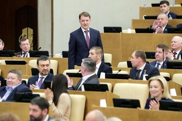 Депутат от Липецкой области Алексей Гордеев стал вице-спикером Госдумы