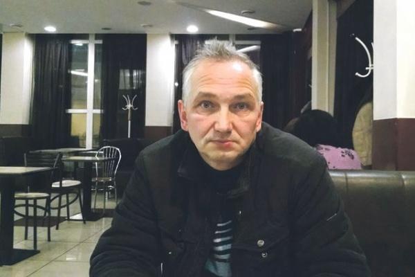 Липецкий оппозиционер Александр Григорьев в день инаугурации президента провел антипутинский пикет