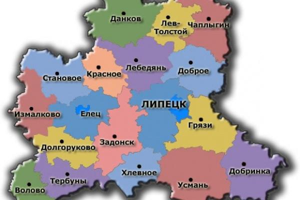 Липецкая область внесет координатное описание своих границ в ЕГРН