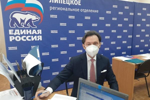 Занимающий 20 лет кресло сенатора Максим Кавджарадзе заявился в праймериз ЕР на выборы в липецкий облсовет