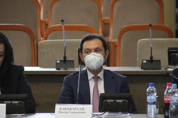 Максим Кавджарадзе пошёл на очередной срок сенатором в Совфед от Липецкой области