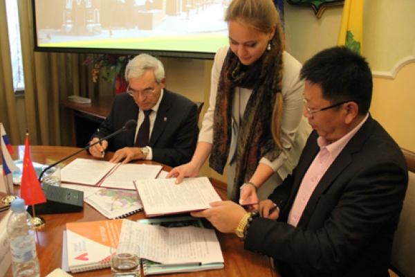 Липецк налаживает деловые связи с китайским городом Суйфэньхэ