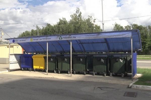 В Липецке активно внедряют систему раздельного сбора мусора