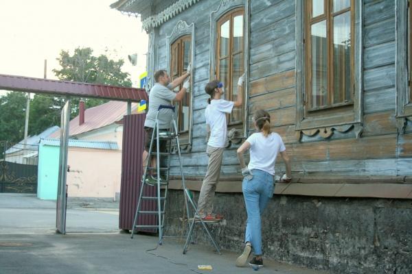 Старинный дом в Ельце взялись ремонтировать испанцы