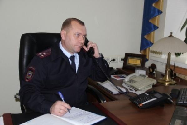 Нового начальника липецкого УМВД Олега Латунова официально представили коллективу