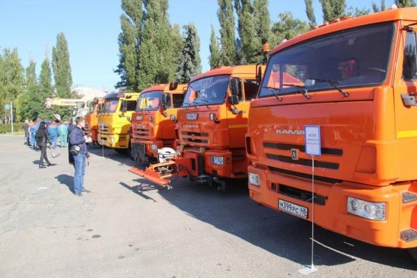 На парад в Липецкой области «съедутся» более 20 наименований коммунальной техники