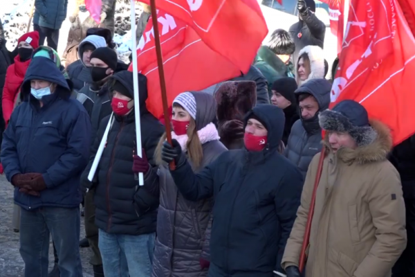 После протестных митингов 23 февраля липецких коммунистов стала преследовать полиция