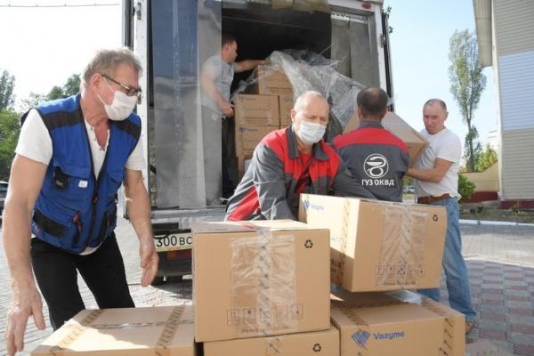 «Лебедяньмолоко» и ООО «Латео» передали липецким врачам почти 15 тысяч тестов на коронавирус